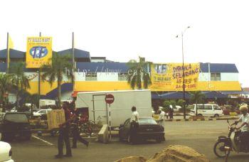 General View to TF Value Mart at Mentakab, Pahang