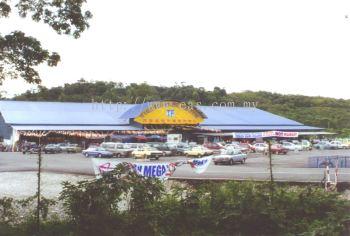 General View to TF Value Mart at Raub, Pahang