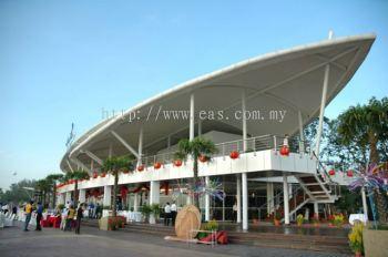 General View 2 Storey of Bay Leaf Food Court at Danga Bay, Johor Bharu Darul Takzim