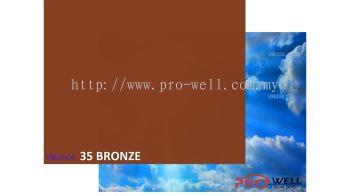 35 Bronze 1PLY   (5' x 100')