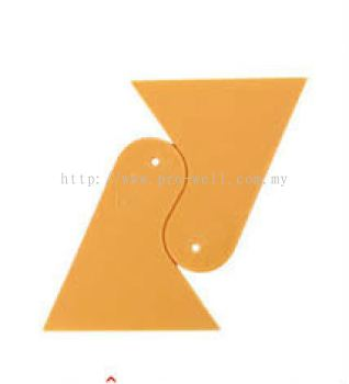 """TL0018 Triangle Squeeze 5""""(YL)"""