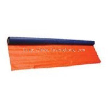Pvc Blue Orange Canvas