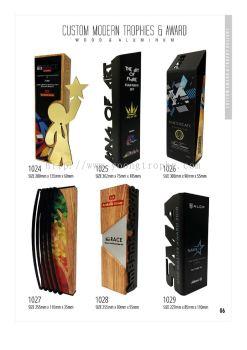 Custom Modern Trophies & Award