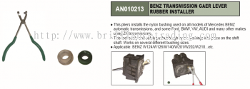 BENZ TRANSMISSION GAER LEVER RUBBER INSTALLER - AN010213