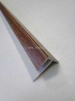 PVC Stair Nose F 8mm - Dark Maple ( F8-1023 )