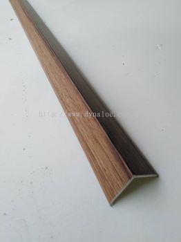 PVC Flooring 'L' END Border BIG - Dark Maple ( LB-1023 )