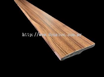 100mm PVC Skirting - Dark Maple ( PSK100-1023)