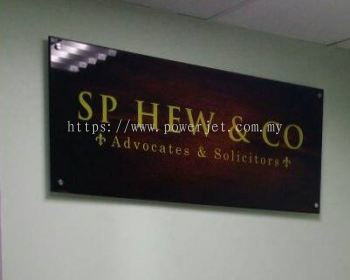 Company Indoor Signage 2