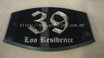 3D Acrylic Engraving