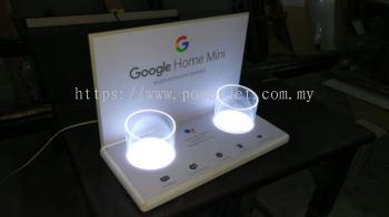 Acrylic Display with LED