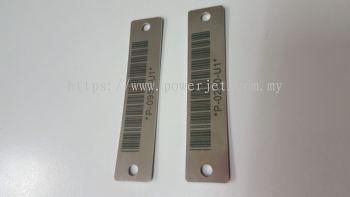 Barcode Laser Marking