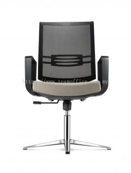 Visitor/ Conference Chair with Aluminium Base