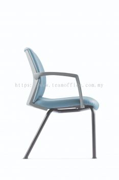 Visitor/ Conference Chair with Epoxy Cantilever Base