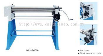 W01-2X1250--factory Slip Roll Machine ID449674