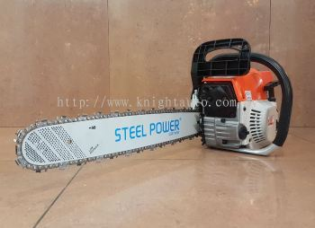 "Steelpower 20"" Gasoline Chain Saw ID30255"