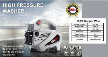 Eurox EJH3010 High Pressure Cleaner 130bar 1800w