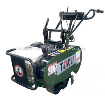 TOKU VSC320: Turf & Sod Cutter, Honda Engine GX160, 5.5HP, Cutting Depth:40mm, Cutting Width: 320mm,