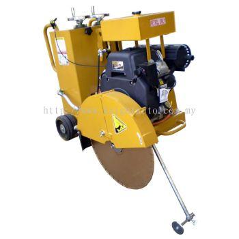 Toku TKC600R: Asphalt & Concrete Cutter, Robin Petrol Engine EH65, 22HP, Cutting Depth:250mm, 180kg