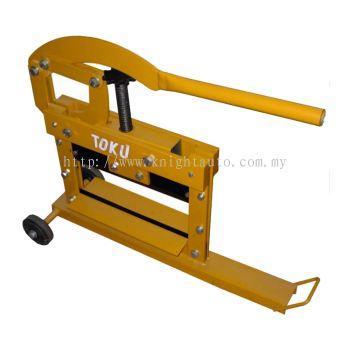 Toku BC14: Manual Block Cutter, Cutting Width:380mm, Cutting Depth:100mm, 49kg