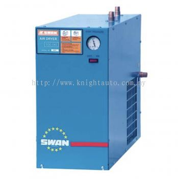 Swan SDE55A Refrigerated Air Dryer, 75HP, Flow Rate 9800L/min, 88kg