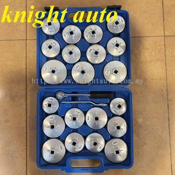 23pcs Aluminum Filter Wrench Kit ID31677
