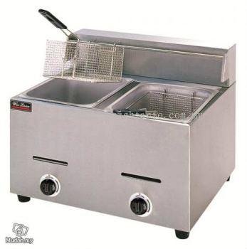Gas Fryer 2-Tank 2-Basket  ID776367