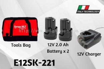 Europa Hilt E12SK-221 Starter Kit With Bag ID32511