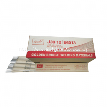 Golden Bridge Welding Electrodes J38.12 3.2MM 5KG