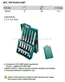 Sata 09162 Pin Punch Set 6pc ID32638