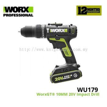 WORX WU179 CORDLESS IMPACT DRILL 20V X 2.0AH ID32648