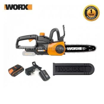 WORX WG322E LI-ION CORDLESS CHAIN SAW 20V ID32652