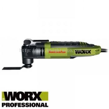 Worx 300W Universal Hyperlock Oscillating Multi-Cutters WU676