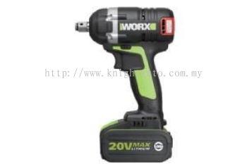 WORX WU278.1 20V Max Li-Ion Brushless Impact Wrench