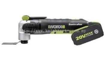 Worx WU677 20V Max Li-ion Universal Hyperlock® Oscillating Muti-tool
