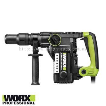 Worx WU350 1050W 5kg 38mm Rotary Hammer