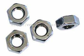 Mild Steel Hexagon Nuts