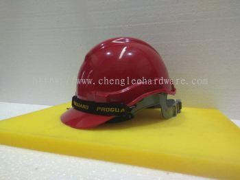 003061 ( RED ) PROGUARD SAFETY HELMET - SLIDE LOCK