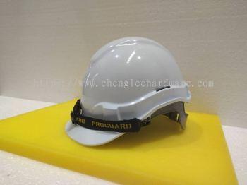 003062 (WHITE) PROGUARD SAFETY HELMET - SLIDE LOCK