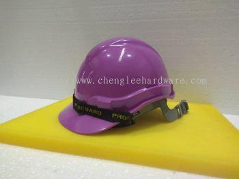 004397 (PURPLE)PROGUARD SAFETY HELMET - SLIDE LOCK