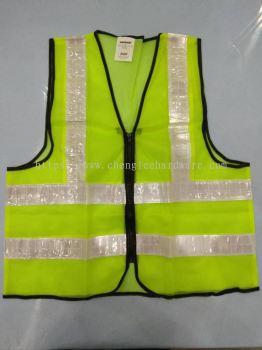 003120 ( ZIP ) HEAVY DUTY SAFETY SHIRT - GREEN