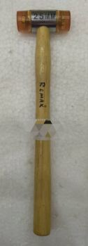 006252 REMAX 25MM PLASTIC MALLET WITH WOOD HANDLE
