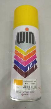 015895 ( 218-YELLOW ) WIN SPRAY PAINT - 400CC