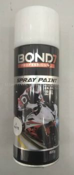 014207 ( 2-WHITE ) SMART BOND 7 SPRAY PAINT - 400GRAM
