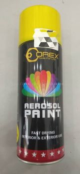008408 ( A07-YELLOW ) OREX  SPRAY PAINT
