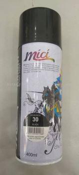 014187 ( 30- BLACK  ) MICI SPRAY PAINT