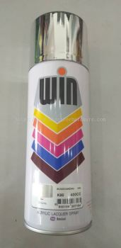 016061 (K80-CHROME ) WIN SPRAY PAINT - 400CC