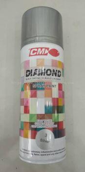 002364 ( 3-SILVER ) CM DIAMOND SPRAY PAINT