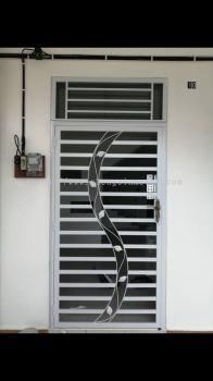 Metal Work - Single Door