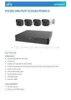 UNV KIT 301-04B-P4-IP
