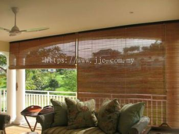 bamboo blinds both side varnish